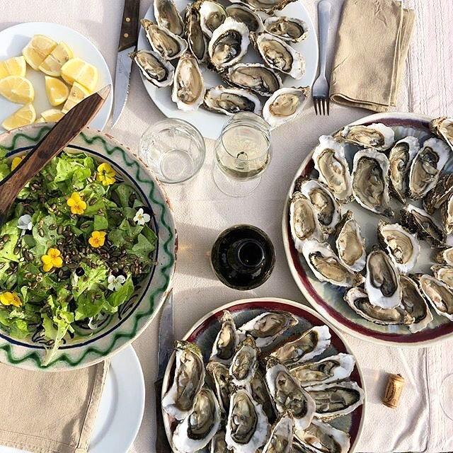 Plateau d'huîtres | Côte Landes Nature