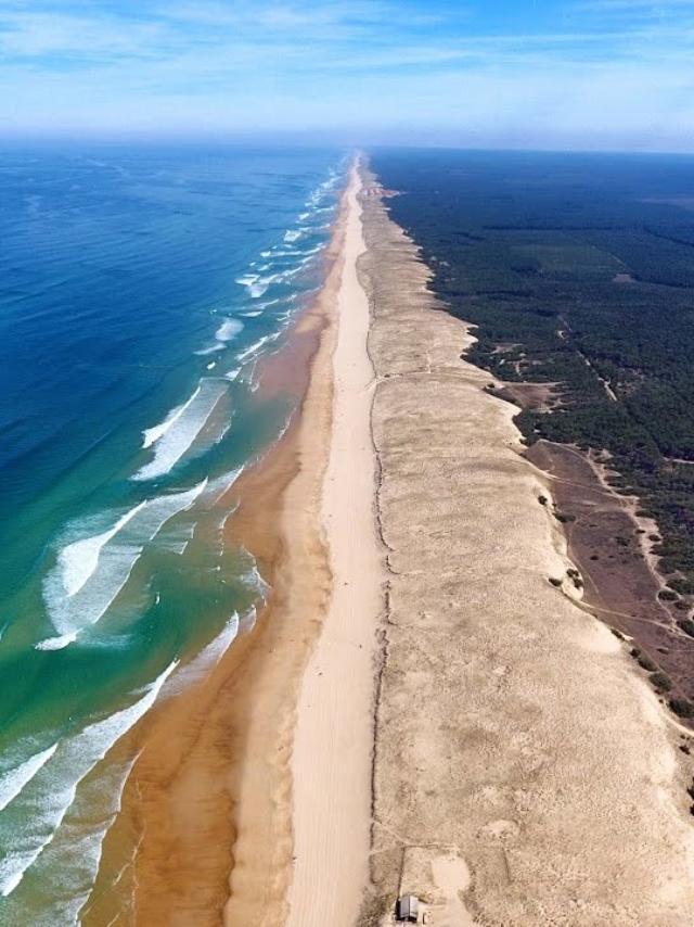 27 kilometres de plages en Côte Landes Nature