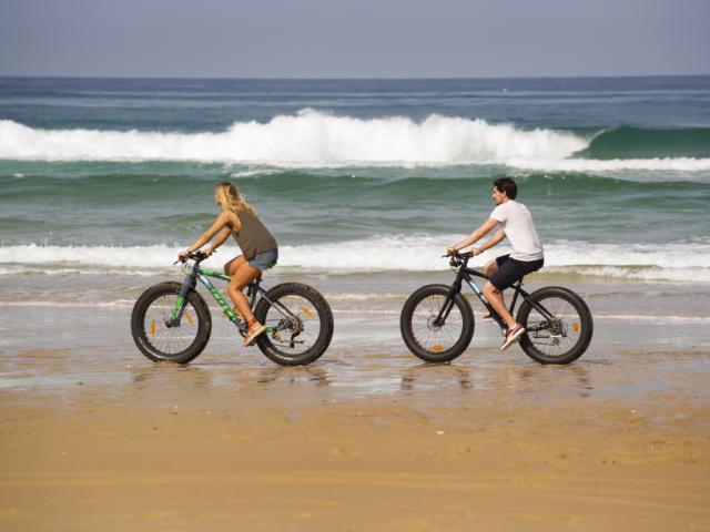 Balade à vélo à Saint Girons plage | Côte Landes Nature