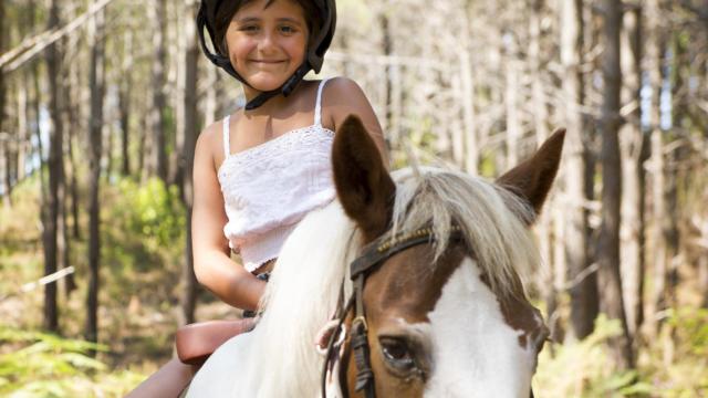 Balade en forêt à poney | Côte Landes Nature