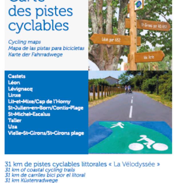 Carte 2018 | Côte Landes Nature Tourisme